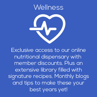 optimal wellness for seniors, including yoga, nutrition, supplements, recipes, health information