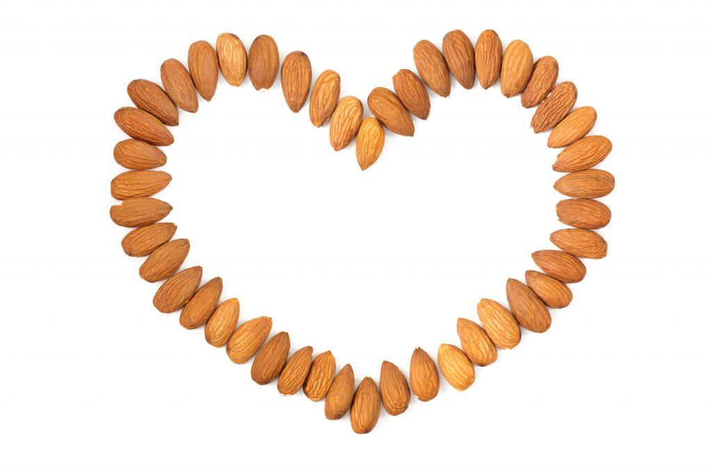 almonds for senior heart health