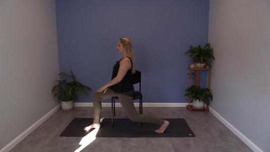 Chair Yoga for Better Balance